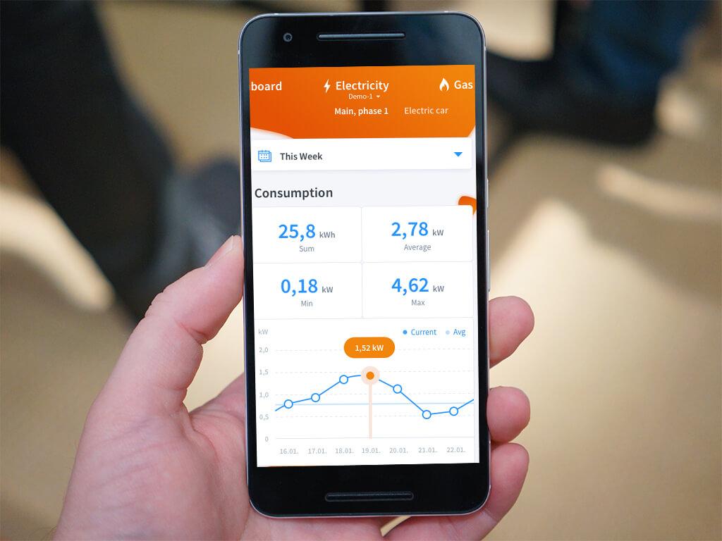 Energomonitor mobile app